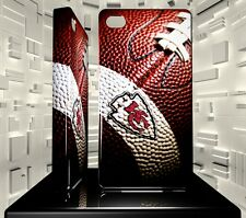 Coque rigide pour iPhone 4 4S Kansas City Chiefs NFL Team 03