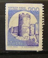 1988  Italia Castelli in  Bobine 200 lire  Varietà