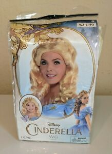 Disney Cinderella Wig Adults and Child One Size Halloween Cosplay