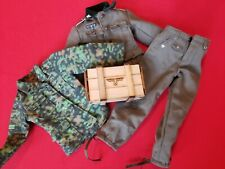 1/6 GERMAN WW2 WHERMACHT UNIFORM AND REAL WOOD AMMO CRATE FROM ROYAL BEST.