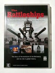 The Battleships - 2001 ABC War Historical Documentary TV Series - RARE R4 DVD