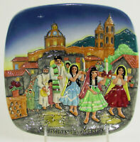 Royal Doulton Christmas in Mexico LTD Edition Plate John Beswick 1973 ENGLAND