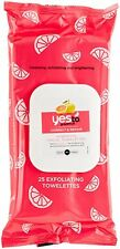 Yes to Grapefruit Brightening Facial Towelettes, 25 Count
