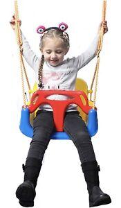 IFOYO Kids Swing Seat, 3 In 1 Toddler Swing Chair Secure Swing Seat Detachable