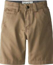 Billabong Carter Boy Shorts/Shorts Dark Khaki (Beige) Children Boys New