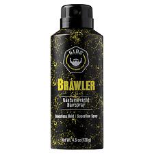 GIBS Guys Into Beard Stuff Brawler Bantamweight Hair Spray 4.5 oz