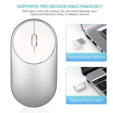 Typ C Wireless Mouse 2.4G USB C Computer Mäuse Laptop Für Apple Tablet Desktop