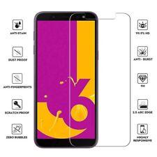 Galaxy J6 PLUS 2018 vitre protection verre trempé film d'écran Samsung J6 + 2018