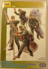 Zvezda 1/35 German 120mm Mortar 42 with Trailer & Crew & 4 Figures 3583