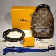 NUOVO Autentico Louis Vuitton Palm Springs Zaino Mini Borsa Monogramma piccolo M44873