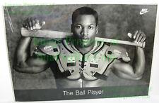NITF Old Stock Foam Board FLAT Pack Nike Poster Bo Jackson THE BALL PLAYER