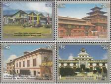 NEPAL POSTAGE STAMPS – MUSEUMS OF NEPAL – 4v. – MINT – 2013