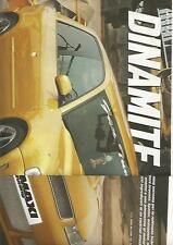 SP35 Clipping-Ritaglio 2003 Audi A3 Dynamite