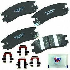 CARQUEST Brakes PXD814H Rear Premium Ceramic Brake Pads