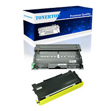 1 PK TN350 Toner & 1 PK DR350 Drum Set Compatible For Brother DCP-7020 Printer