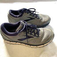 Brooks Beast 18 Men's Trail Running Shoes - Grey/Navy/White - Size 10
