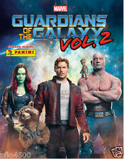 GUARDIANS OF GALAXY VOLUME 2 ALBUM & 50 PACKETS OF STICKERS BRAND NEW