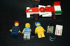 Lego Minifigure Lot Race Car Helmets Vehicle Hoods Racing -G+