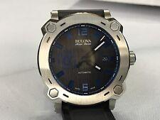 Bulova AccuSwiss Percheron Limited Edition Manchester United 63B189 Blue Watch