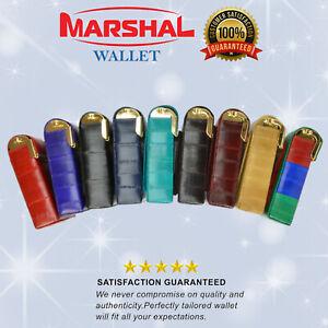 Genuine Eel Skin Leather Sliding Cigarette Case Wallet Tobacco Case Lighter