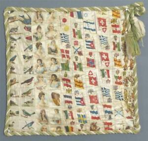Antique Cigarette Silks Panel