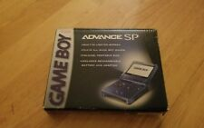 Nintendo Game Boy Advance SP Blue Handheld System Boxed 6+ games free shipping