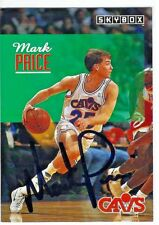 1992-93 Skybox #44 Mark Price Cleveland Cavaliers Basketball Card Auto