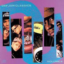Def Jam Classics, Vol. 2 (CD) Public Enemy, Slick Rick,LL Cool J, 3rd Bass,  NEW