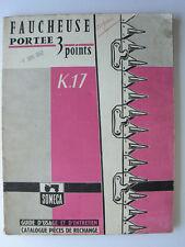 Guide Entretien Faucheuse SOMECA 3 Points       1962