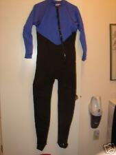 NEW Triolifin Full Wetsuit  ML Blue Black Aquaflite
