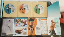 SLIM IN 6 DEBBIE SIEBERS 3 DVD BOX SET BEACHBODY FITNESS THIN CHRISTMAS PRESENT
