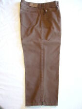 LADIES LAUREN JEANS CO. CHOCOLATE BROWN CROPPED JEANS SZ 4