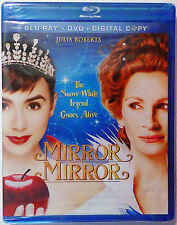 Mirror Mirror: The Snow White Legend Comes Alive (Julia Roberts (BLU-RAY, 2012)