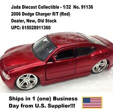 2006 Dodge Charger No. 91136 1:32 Diecast Collectible-1pc Red No Box- New