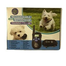 Puss and Pooch Rechargeable Waterproof Dog Training Collar