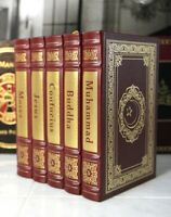 FOUNDERS OF THE GREAT RELIGIONS - Easton Press - SCARCE!