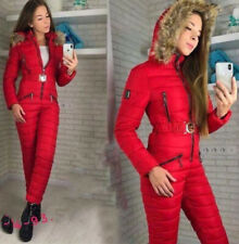 Womens Winter Ski Snow Suit Jumpsuit Waterproof Outdoor Sport Overall Outerwear