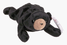 TY BEANIE BABY BLACKIE THE BEAR DOLL COLLECTIBLE WITH TAG FREE SHIP TO THE USA