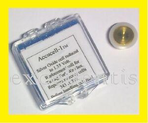 Batterie Accucell-1 el. reduziert auf 1,35 V für Bulova Accutron Kal.214 Uhren
