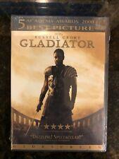 Gladiator Dvd, 2000, Russell Crowe, Joaquin Phoenix Brand New!