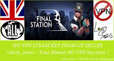 La clave de vapor Estación final no VPN región libre de Reino Unido Vendedor