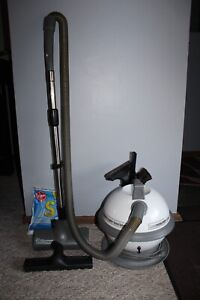 Vintage Hoover S3341 Constellation Canister Vacuum Rare 2006 Version With tools
