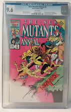 New Mutants Annual #2 CGC 9.6 (1986, Marvel) 1st appearance Psylocke new movie