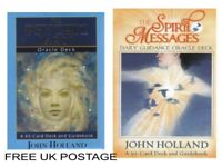 John Holland Oracle cards Spirit Messages OR Psychic Tarot angel FREE POSTAGE