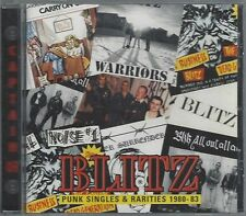 BLITZ - PUNK SINGLES & RARITIES 1980-1983 - (still sealed cd) - AHOY CD 161