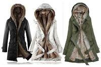New Vogue Women Thicken Warm Winter Coat Hood Parka Overcoat Long Jacket Outwear