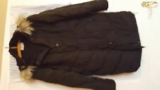Cotton Blend Patternless Quilted Coats & Jackets for Women