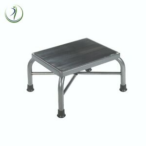 """Bariatric Drive Medical Foot Stool 9"""" Step NonSkid Rubber Platform Holds 500 lbs"""