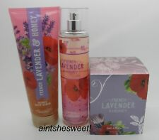 BATH & BODY WORKS French Lavender & Honey - Choose Your Favorite Product
