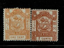 North Borneo SG# 37 and 38, Mint No Gum - S1412